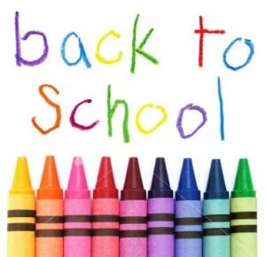 De scholen zijn weer begonnen!